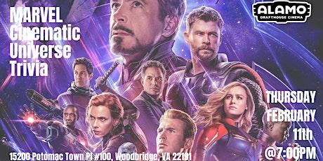 Marvel Cinematic Universe Trivia at Alamo Drafthouse Woodbridge tickets