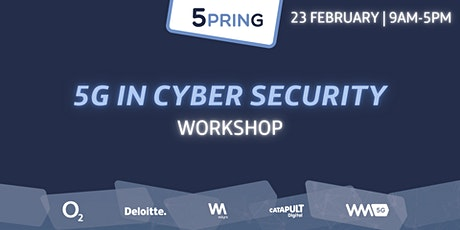 5PRING Workshop: 5G in Cyber Security tickets