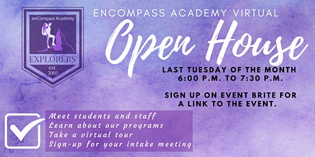 Virtual Open House for enCompass Academy tickets