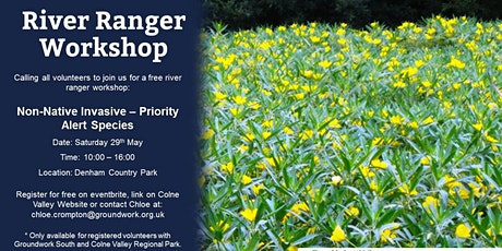 River Ranger Workshop - Non Native Invasive – Priority Alert Species tickets