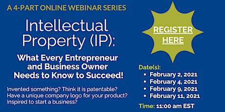 Intellectual Property (IP) Webinar Series tickets