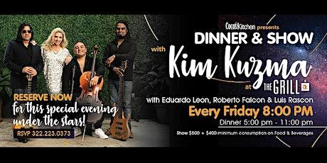 Kim Kuzma Dinner & Show tickets