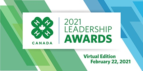 2021 4-H Canada Leadership Awards tickets