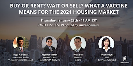 Buy or Rent? Wait or Sell? What a Vaccine Means for the 2021 Housing Market tickets
