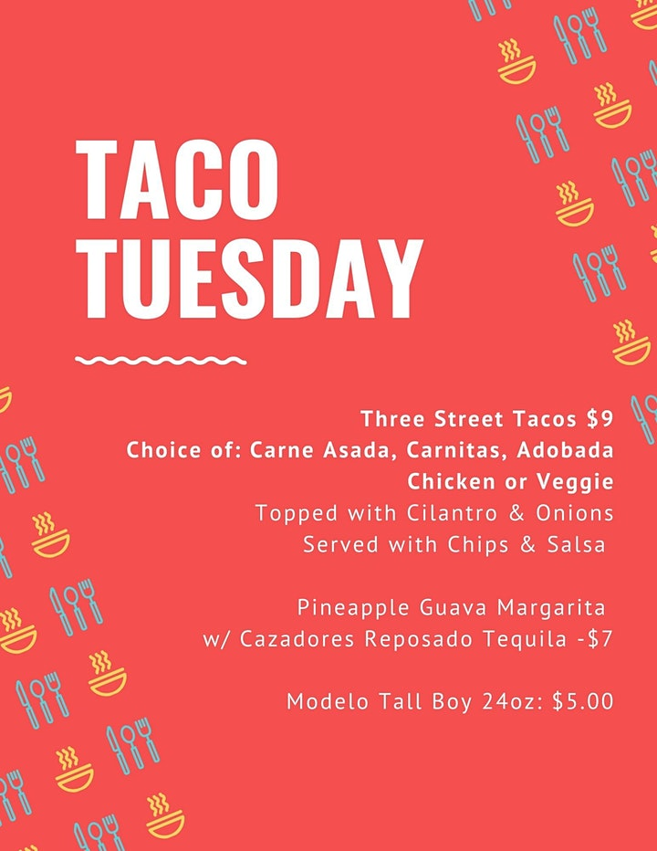 Roller Skates And Taco Plates: Tuesdays in March 2021 image