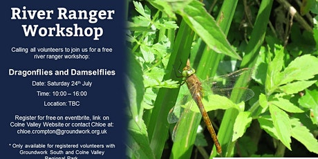 River Ranger Workshop - Dragonflies and Damselflies tickets
