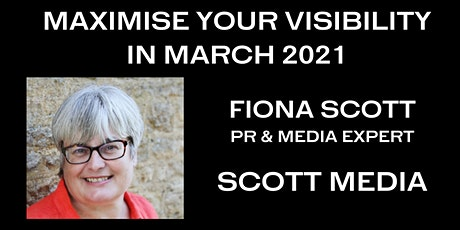 MAXIMISE YOUR VISIBILITY IN MARCH! tickets