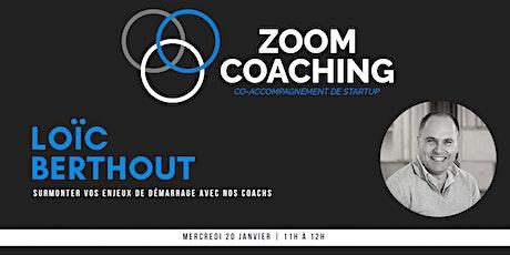 Zoom Coaching: Venez surmonter vos enjeux de démarrage billets