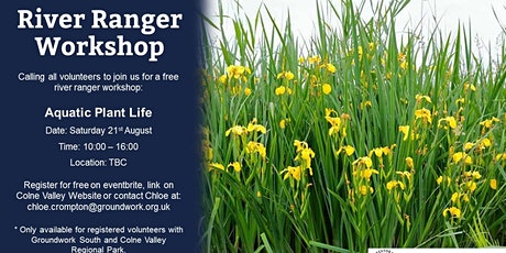 River Ranger Workshop - River Plants tickets