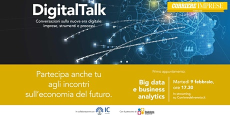Digital talk: Big data e business analytics biglietti