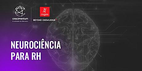 Neurociência para RH | Online e ao Vivo ingressos