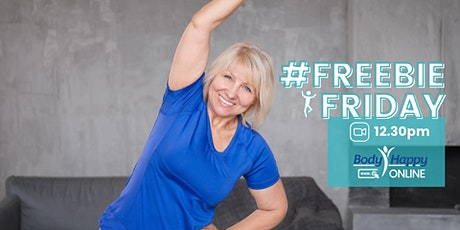 Freebie Friday 30-minute fitness class tickets