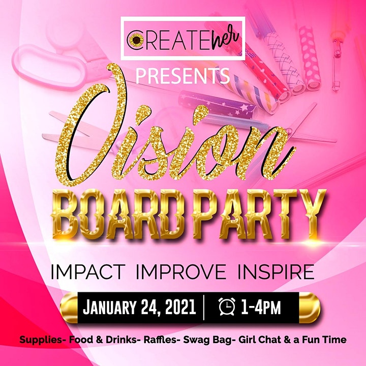 2021 Vision Board Party Dallas image