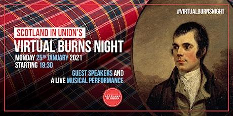 Scotland in Union's Virtual Burns Night tickets