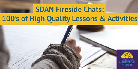 SDAN Fireside Chat: 100's of High Quality Lessons & Activities tickets