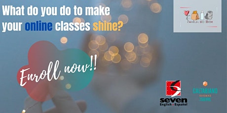 What do you do to make your online classes shine? entradas