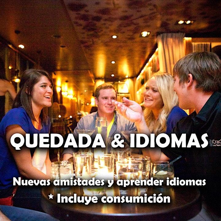 Imagen de LEER DETALLES Quedadas con intercambio de idiomas