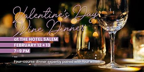 Valentines Day Wine Dinner tickets