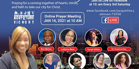 Prayer In the City  via Zoom tickets