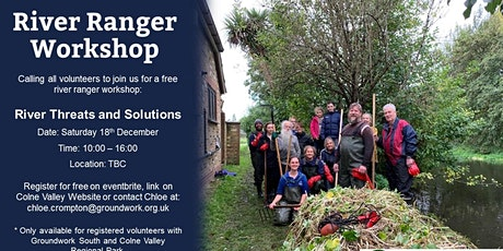 River Ranger Workshop - Future of Rivers tickets