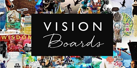 Create your intention-driven Vision Board for 2021 tickets