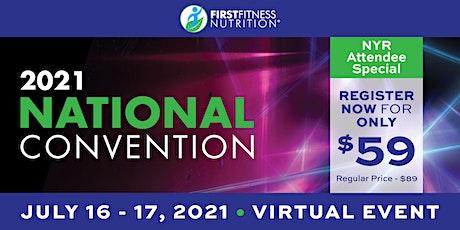 FirstFitness Nutrition 2021 Virtual NatCon tickets