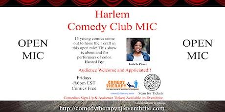 Harlem Comedy Club Mic tickets