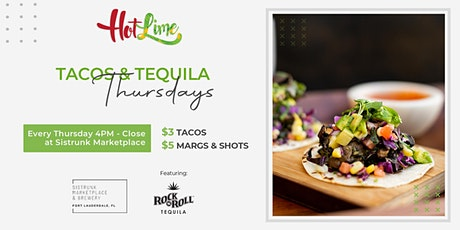 Tacos & Tequila Thursdays! tickets