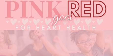 Pink Goes Red for Heart Health Zumba Class tickets