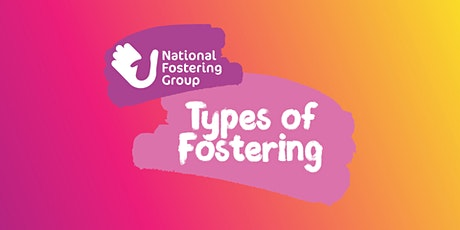 Types of Foster Care - Virtual Event tickets