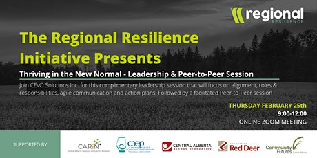 Thriving in the New Normal - Leadership and Peer-to-Peer Networking tickets