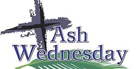 Ash Wednesday tickets
