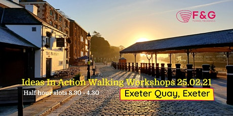 Ideas In Action Walking Workshops - Exeter tickets