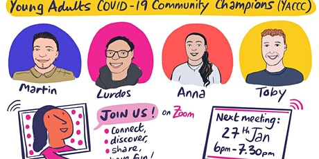 Young Adult Covid-19 Community Champion zoom workshop tickets