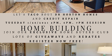 Claudia Charles Real Estate: Let's Taco Bout Building: Dr Horton Express tickets