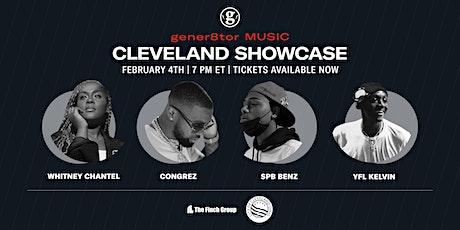 gener8tor Music Cleveland Showcase tickets