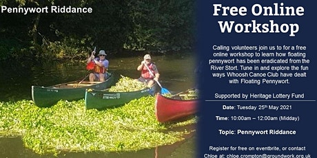 Online Volunteer Workshop - Pennywort Riddance tickets
