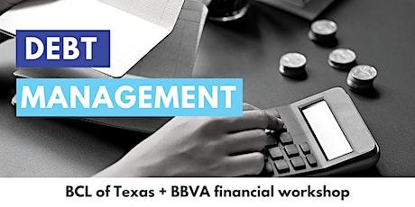 Debt Management tickets