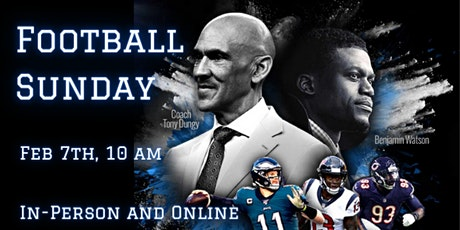 Football Sunday (In-Person or Online) tickets