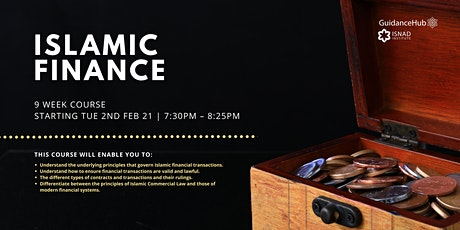 Islamic Finance - (Every Tue from 2nd Feb - ONLINE | 9 Weeks | 7:30PM) tickets