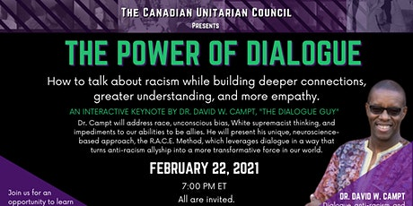 The Power of Dialogue with Dr. David Campt tickets
