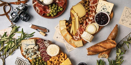 Virtual Spring Seasonal Cheese Board Making Class tickets