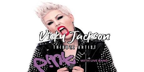Pink tribute Vicky Jackson & Band live Eleven Stoke tickets