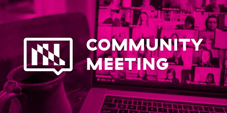 LEVEL UP: 2021 Jan. Community Meeting tickets