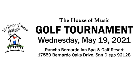 The House of Music Golf Tournament tickets