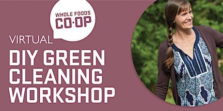 FREE WFC-U Virtual Class - DIY Green Cleaning Workshop tickets