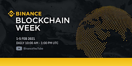 Binance Blockchain Week 2021: The Future is Now tickets