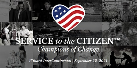 2021 Service to the Citizen Awards: Champions of Change Program tickets