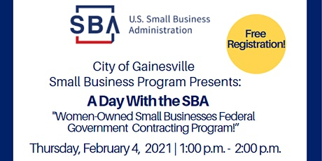 "Women-Owned Small Businesses Federal Government Contracting Program!"" tickets"