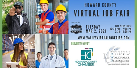 Howard County Virtual  Job Fair (JOB SEEKERS) tickets